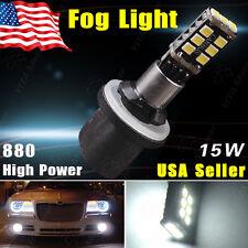 1x Xenon White 880 892 15W High Power LED Car Fog Driving DRL Light 893 899