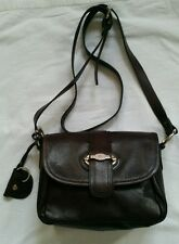 Nica London Genuine Leather Brown Shoulder Messenger Crossbody Handbag