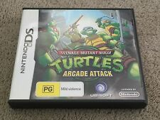 Rare! Teenage Mutant Ninja Turtles: Arcade Attack for DS, in Aus, Complete, VGC