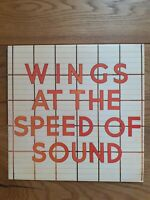 Wings  Wings At The Speed Of Sound MPL‎– PAS 10010 Vinyl, LP, Album, Stereo