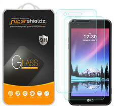 2X Supershieldz LG Fortune Tempered Glass Screen Protector Saver