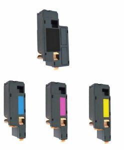 4 Toner XXL für Dell 1250 C 1350 CNW 1355 CN C1760 NW C1765 NF C1765 NFW