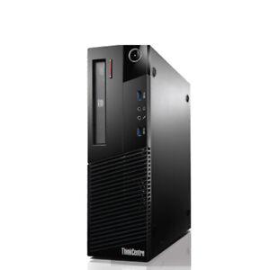 LENOVO Desktop M83 SFF Intel 4th Gen Core i7-4790  16GB NEW 240GB SSD W10P DVDRW