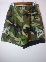 Tapout Men's Size 28 Shorts Army Camouflage Boxing Workout Martial Arts MMA