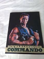 Commando (1985) (Movie Press Kit) (Schwarzenegger)