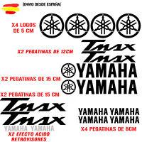 PEGATINA VINILO ADHESIVO YAMAHA MOTO TMAX  STICKER DECAL KIT DE 16 unds t max