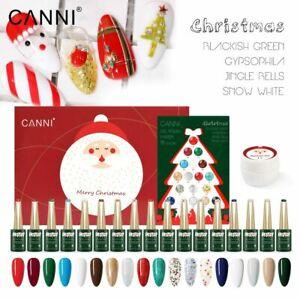 CANNI Christmas Gift Set Soak Off UV / LED Nail Gel Polish - LIMITED QUANTITY