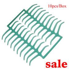 Compact 10pcs/Box Dental Lab Wax Patterns Molar Clasps XL Partial Denture Green