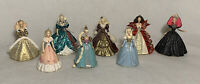 Lot Of 8 Hallmark Keepsake Barbie Holiday Christmas Ornaments 1994 To 1998