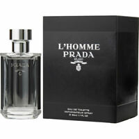 Prada L'Homme Edt Eau de Toilette Spray 50ml NEU/OVP