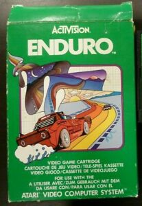 Jeu ActiVision Atari  Enduro complet Vers. Fr