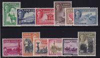 Gold Coast Sc #130-41 (1948) King George VI Pictorial Set Mint LH