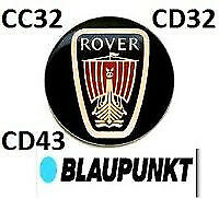 "Rover Blaupunkt Radio Unlock Code for Stereo CC32"" CD32"" CD43"""