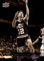 2009-10 Upper Deck Basketball #266 John Stockton Immortals Utah Jazz
