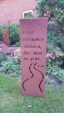 Gartenfiguren & -skulpturen aus Edelrost-Säule