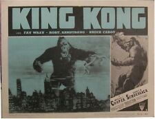KING KONG VINTAGE MOVIE POSTER LOBBY CARD 8