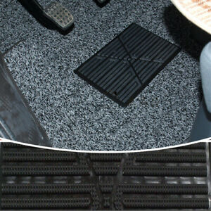 Universal Car Floor Carpet Mat Patch Foot Heel Plate Pedal Pad Comfort Accessory