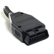 OBDII OBD2  16 PIN CONNECTOR PLUG  MALE SOLDERABLE DIAGNOSTIC PLUG OBD 1st Class