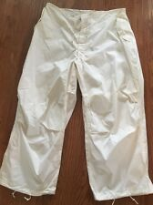 NEW Army Military White Arctic Snow Camo Trousers M-65 Large Regular #1