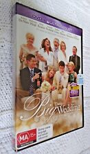THE BIG WEDDING – DVD, R-4,  NEW AND SEALED, FREE POST WITHIN AUSTRALIA