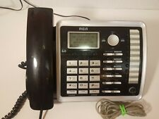 RCA ViSYS 25255RE2 DECT 6.0 2-Line Corded Phone
