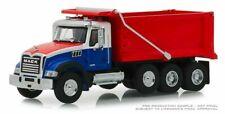 Greenlight Sd Trucks 2019 Mack Granite Dump Truck 1/64 Red White Blue 45060 B