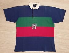 Polo Ralph Lauren OG K-Swiss Shirt Vintage 1992 Kswiss Rare Stadium Korean
