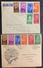INDIA 1952 SIANT POETS 2  FDC IN VF CONDITION .