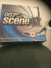 Scene It? 007 James Bond Edition DVD  Board Game  New And Contents Sealed