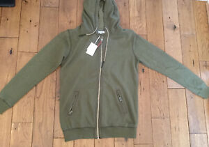 New Mens Pearly King Draft Khaki Hoodie  Size M £49.99 Or Best Offer RRP £102