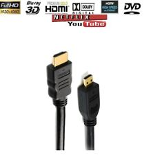 1.5M Micro USB To HDMI 1080p Cable TV AV Adapter Mobile Phones Tablets HDTV BABZ