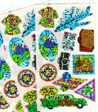 Vtg Hambly Glitter Travel Sticker Lot - Vacation