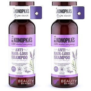 Dr. Konopka's Natural SHAMPOO ANTI HAIR LOSS Pack of 2
