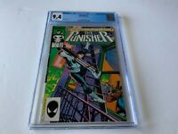 PUNISHER 1 CGC 9.4 WHITE PAGES MIKE BARON KLAUS JANSON MARVEL COMICS 1987