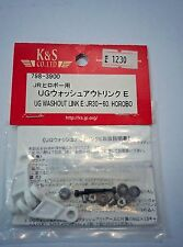 K&S UG Washout Link E with ball bearings, JR30-60 Hirobo KSJ3900