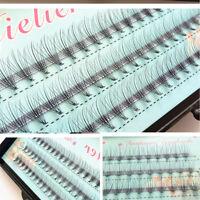 10D Mink Individual Black Natural False Eyelash Cluster Eye Lashes Extension.