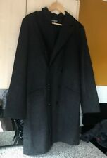 Gap Mens Grey Wool Mix Pea Coat Medium Worn Once Grey