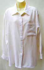 Katies cream self-patterned shirt ~ Size 16