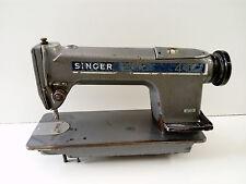 Maquina de coser SINGER 491 Industrial Años 70 Gran Tamaño y Velocidad.
