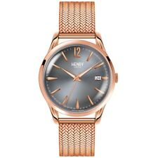 Henry London HL39-M-0118 Ladies Finchley Rose Gold Plated Bracelet Watch £125