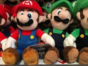 SUPER NINTENDO WORLD Mario Luigi Plush doll USJ Official Limited