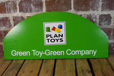 Plan Toys Green Toy-Green Company Advertising Logo Sign Display
