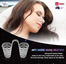Anti Snore Nasal Dilators Nose Clips Stop Snoring Breathe Easy Sleep Aid Device