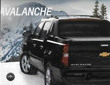 2013 13 Chevrolet Avalanche original sales brochure