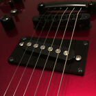 Guitar Parts CONVERSION PICKUP MOUNTING RING Humbucker Single Coil - SLANT BLACK