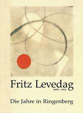 Franz, Hirt, Fritz Levedag 1899 - 1951, Jahre i Ringenberg Hamminkeln, Kat. 1999