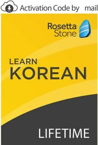 Rosetta Stone: Learn Korean with Lifetime Access [Activation by mail]