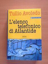 L'elenco telefonico di Atlantide - Tullio Avoledo - Sironi Editore 3514
