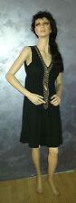 abito vestito DON'T MISS  ragazza donna  tg.48 col. nero in 100% cotone