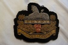 Gloucester Regt Blazer  badge